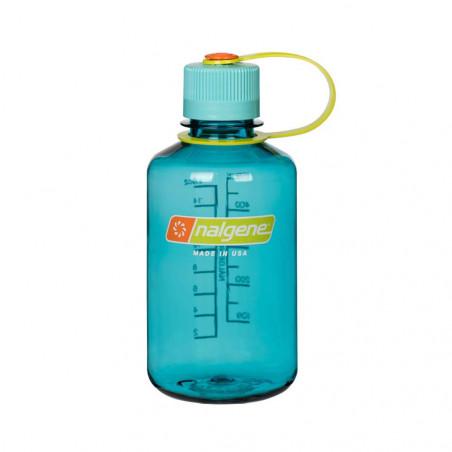 Nalgene Boca Estrecha azul cerúleo 500 ml – Botella cantimplora