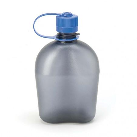 Nalgene Oasis gris 1 litro – Botella cantimplora