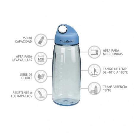 Nalgene N-Gen azul 750 ml – Botella cantimplora