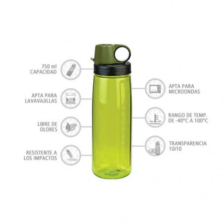 Nalgene OTG verde 750 ml – Botella para deporte y trabajo