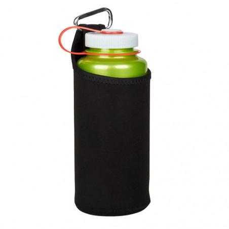 Nalgene Neopreno con Mosquetón negro - Funda para botella