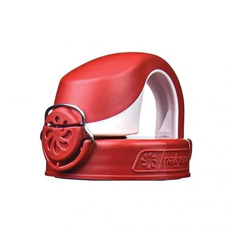 Nalgene Tapón OTF 63 mm rojo / blanco – Recambio para botella