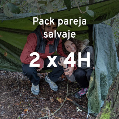 Pack Pareja Salvaje PlayD - 2 cursos supervivencia 5h sin fecha asignada