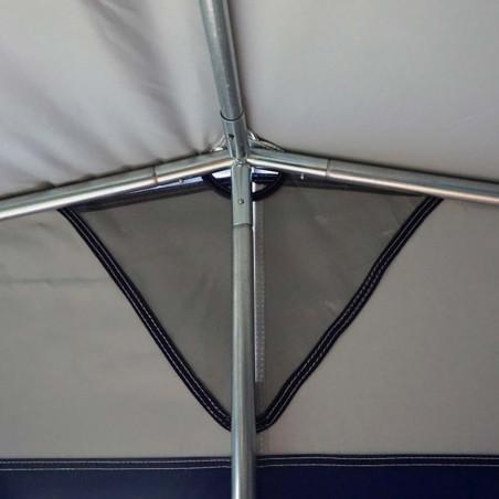 Estructura de acero para tienda cocina 250 x 150 cm