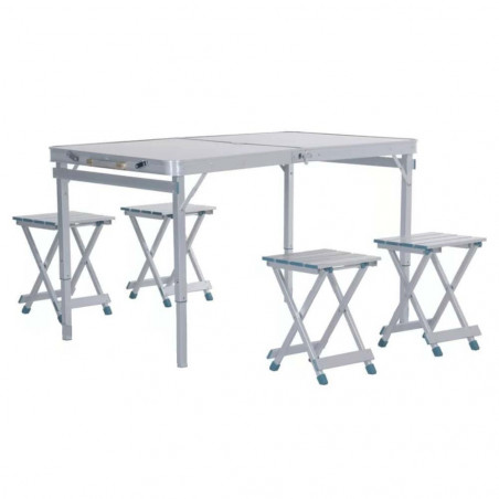 Mesa plegable HOSA BRUNCH MALETA aluminio