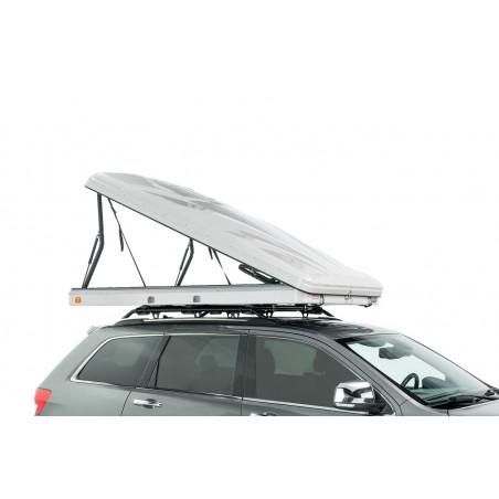 Tepui HyBox 2P gris - Tienda de techo rígida para coche