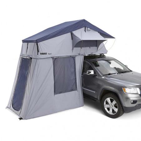 Thule Tepui Explorer Autana 3 con Anexo gris - Tienda de techo para coche