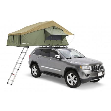 Thule Tepui Explorer Autana 3 con Anexo verde - Tienda de techo para coche