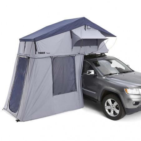 Thule Tepui Explorer Autana 4 con Anexo gris - Tienda de techo para coche