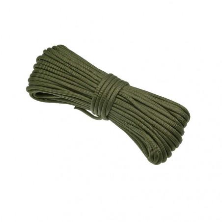 Cordón North Star Paracord 425 de 3 hebras - 7 metros verde oliva