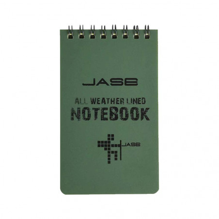 Jase all weather lined notebook - Bloc de notas waterproof impermeable
