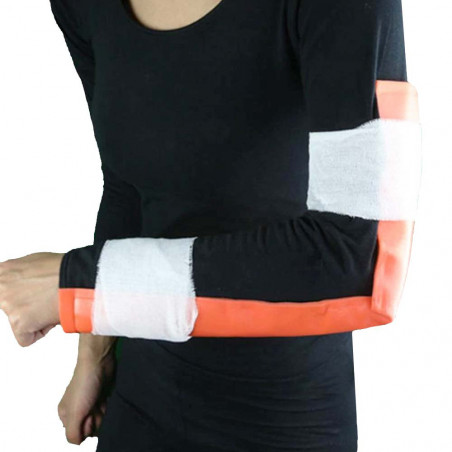 Férula moldeable de emergencia North Star para inmovilizar brazo o pierna