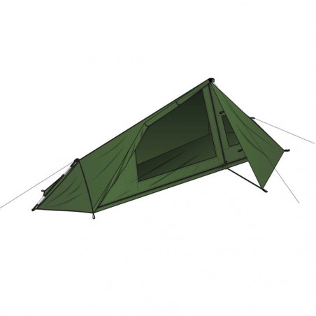 DD Hammocks Ultralight Tarp Tent - Tienda de campaña individual