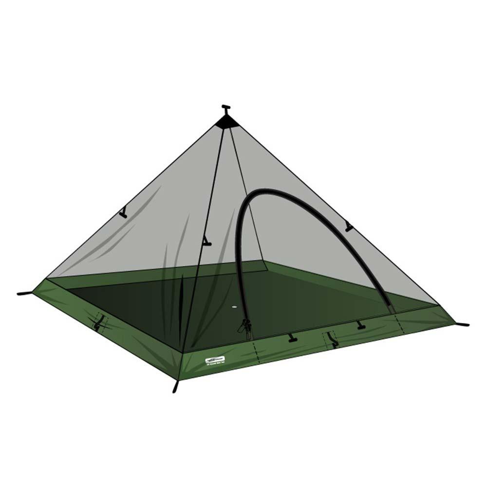 DD Hammocks Superlight Pyramid Mesh Tent - Tienda de campaña tipi 2 personas