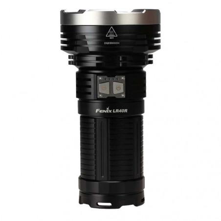 Fenix LR40R Multifuncional Recargable Super Luminosa - Linterna de búsqueda y rescate