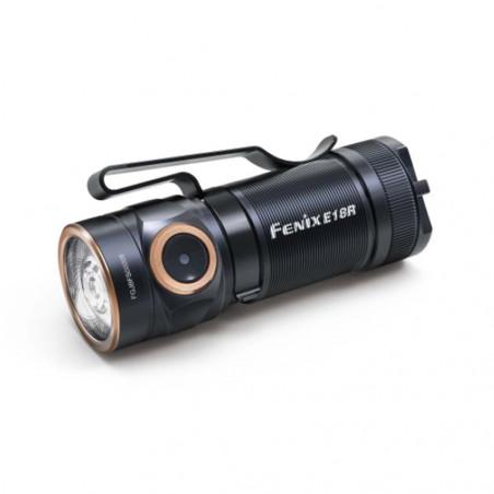 Fenix E18R Ultra Compacta Alto Rendimiento Recargable EDC - Linterna de outdoor