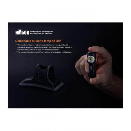 Fenix HM50R Multiuso Fiable Resistente al Frío - Linterna frontal