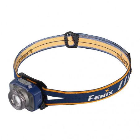 Fenix HL40R Alto Rendimiento Recargable con Zoom azul - Linterna frontal