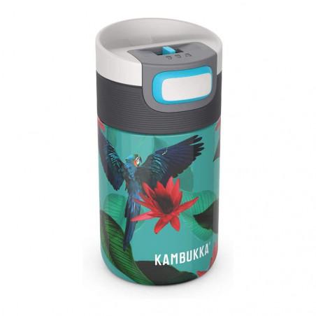 Kambukka Etna 300 ml Parrots – Botella termo té y café