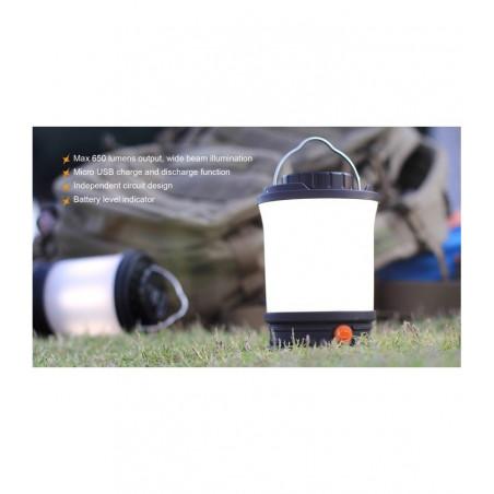 Fenix CL30R Largo Alcance Recargable – Lámpara de camping