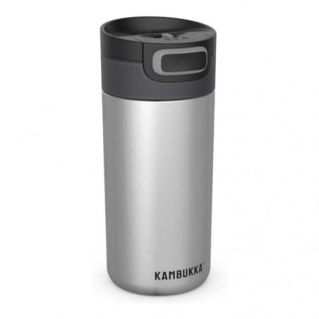 Kambukka Etna 500 ml Silver – Botella termo té y café