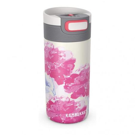 Kambukka Etna 500 ml Pink Blossom – Botella termo té y café