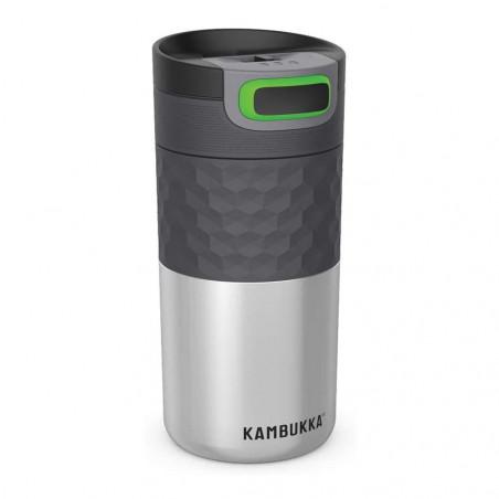 Kambukka Etna Grip 500 ml Stainless Steel – Botella termo té y café