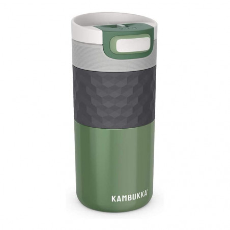 Kambukka Etna Grip 500 ml Seagreen – Botella termo té y café