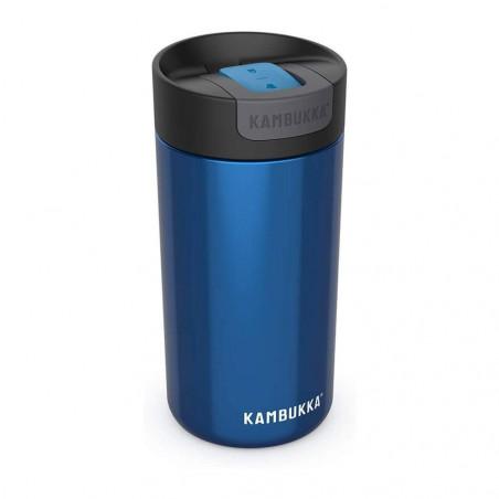 Kambukka Olympus 500 ml Swirly Blue– Botella termo té y café