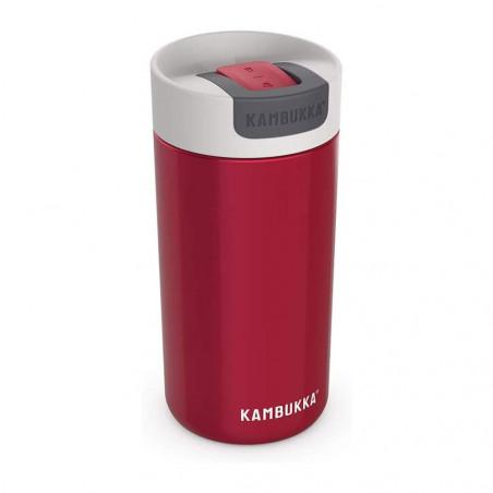 Kambukka Olympus 500 ml Pomegranate – Botella termo té y café