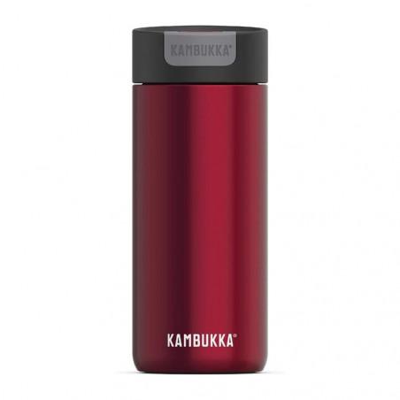 Kambukka Olympus 500 ml Ravenous red – Botella termo té y café