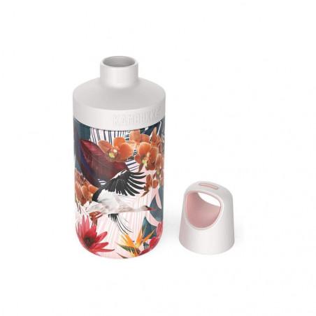 Kambukka Reno Insulated 300 ml Orchids - Botella cantimplora
