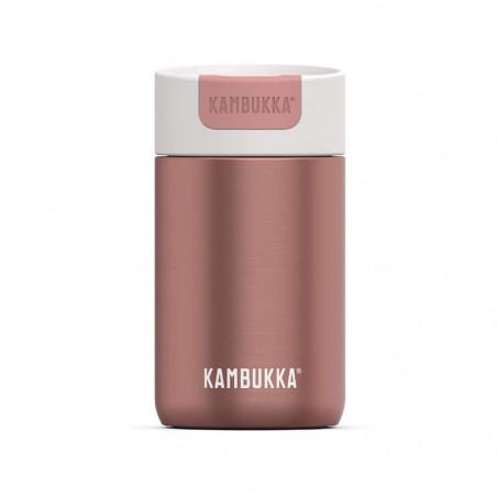 Kambukka Olympus 300 ml Misty rose– Botella termo té y café