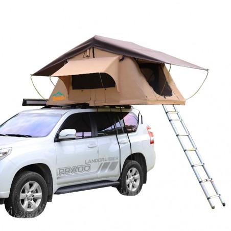 Domin Go! Camper DMG 135 marrón - Tienda de techo para coche