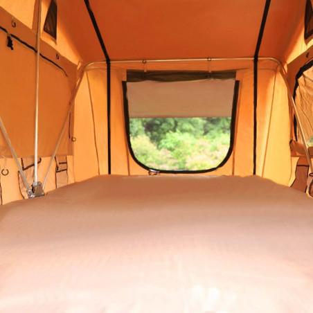 Domin Go! Camper DMG 185 marrón - Tienda de techo para coche