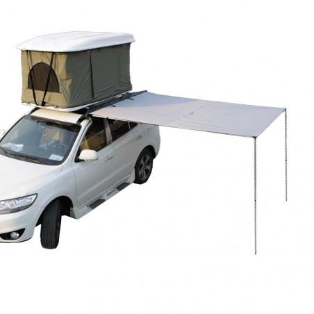 Domin Go! Toldo 200×250 gris - Toldo para caravana o furgoneta camper