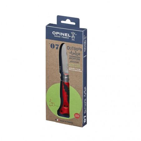 Opinel Nº7 Rojo – Navajas para niños Opinel Junior