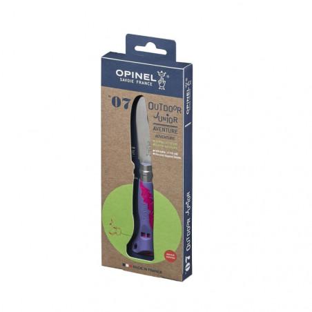 Opinel Nº7 Púrpura – Navajas para niños Opinel Junior