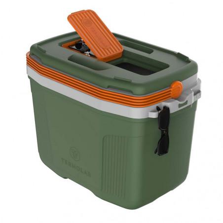 Termolar Box SUV 32L verde - Nevera rígida portátil
