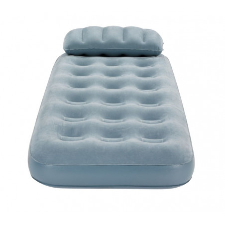 Colchón hinchable individual Campingaz SMART QUICKBED SINGLE con almohada - Gris