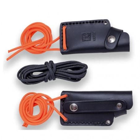 Joker Erizo TS1 Micarta naranja - Cuchillo de supervivencia y bushcraft