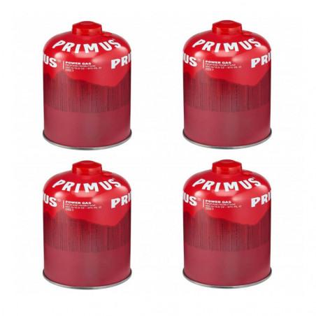 Pack 4 Primus PowerGas 450 g - Cartucho de gas