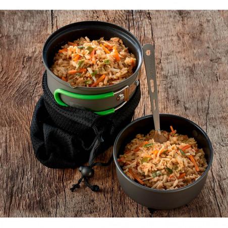 Comida liofilizada Trek'n Eat 160 g - Risotto de soja con verduras