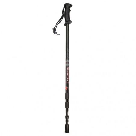 Bastón de trekking JKR 3 Extensiones Negro – Accesorios JKR