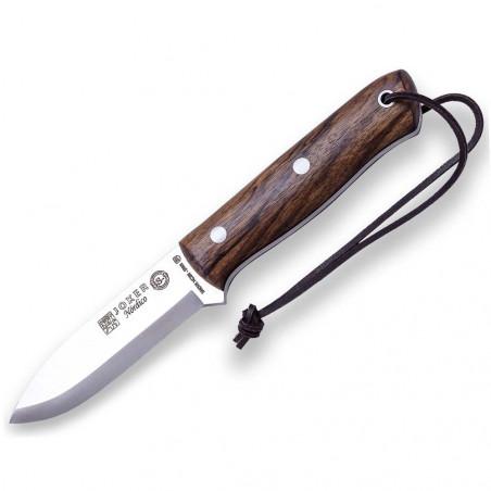 Joker Bs9 Nórdico Nogal con ferrocerio - Cuchillo de supervivencia y bushcraft