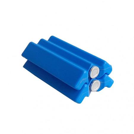 Pack 2 Acumuladores de frío Rockwest 250 ml azul - Bloque hielo nevera