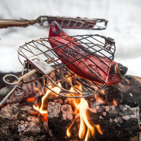Light my Fire Grandpa FireGrill - Parrilla de campamento