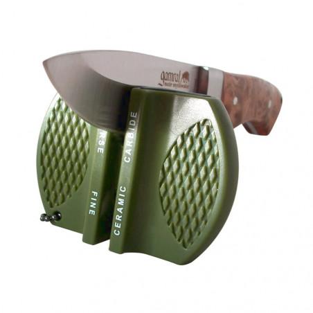 Mil-tec Afilador de bolsillo - Afilador navajas cuchillos
