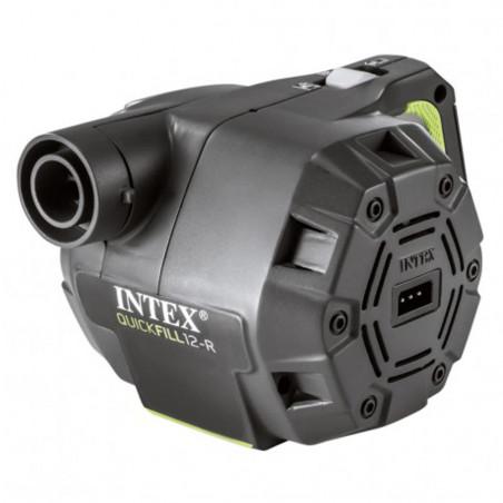 Intex Hinchador eléctrico portátil 220-240v con adaptadores