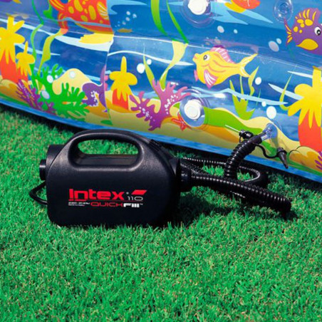 Intex Hinchador eléctrico 220-240v + Boquilla de aguja